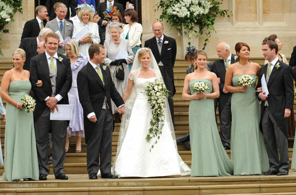Royal Bride Autumn Kelly And Peter Phillips The