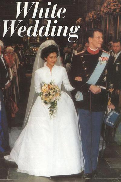 Wedding dress of Princess Alexandra of Denmark