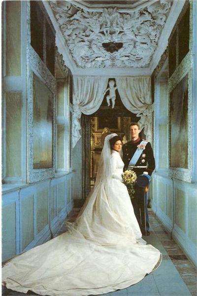 Princess Alexandra and Joachim of Denmark | The FashionBrides