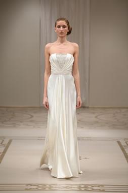 Reem Acra Wedding Dress Designers Sweetheart Sheath Wedding Dress