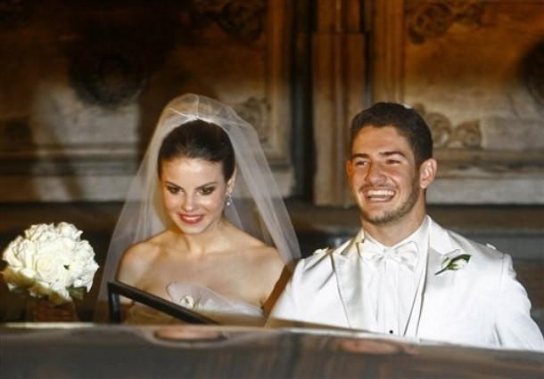 Brazil Alexandre Pato Wedding
