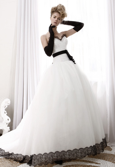 Atelier Aim e 2011 Black and White Bridal Collection
