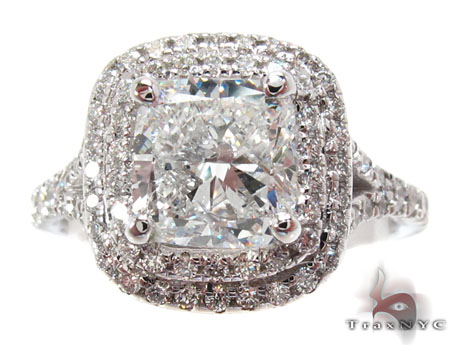 Top 12 cheap engagement rings WhiteGoldPrincessRoundCutProngDiamond
