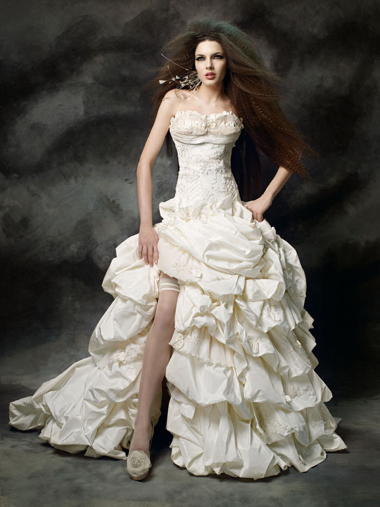 فساتين زفاف فرنسية اجمل فساتين
