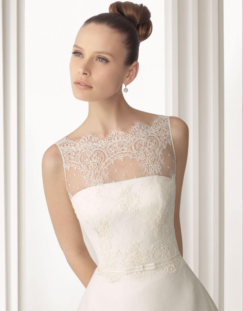 rosa clara 2012 spring bridal collection the fashionbrides. Black Bedroom Furniture Sets. Home Design Ideas