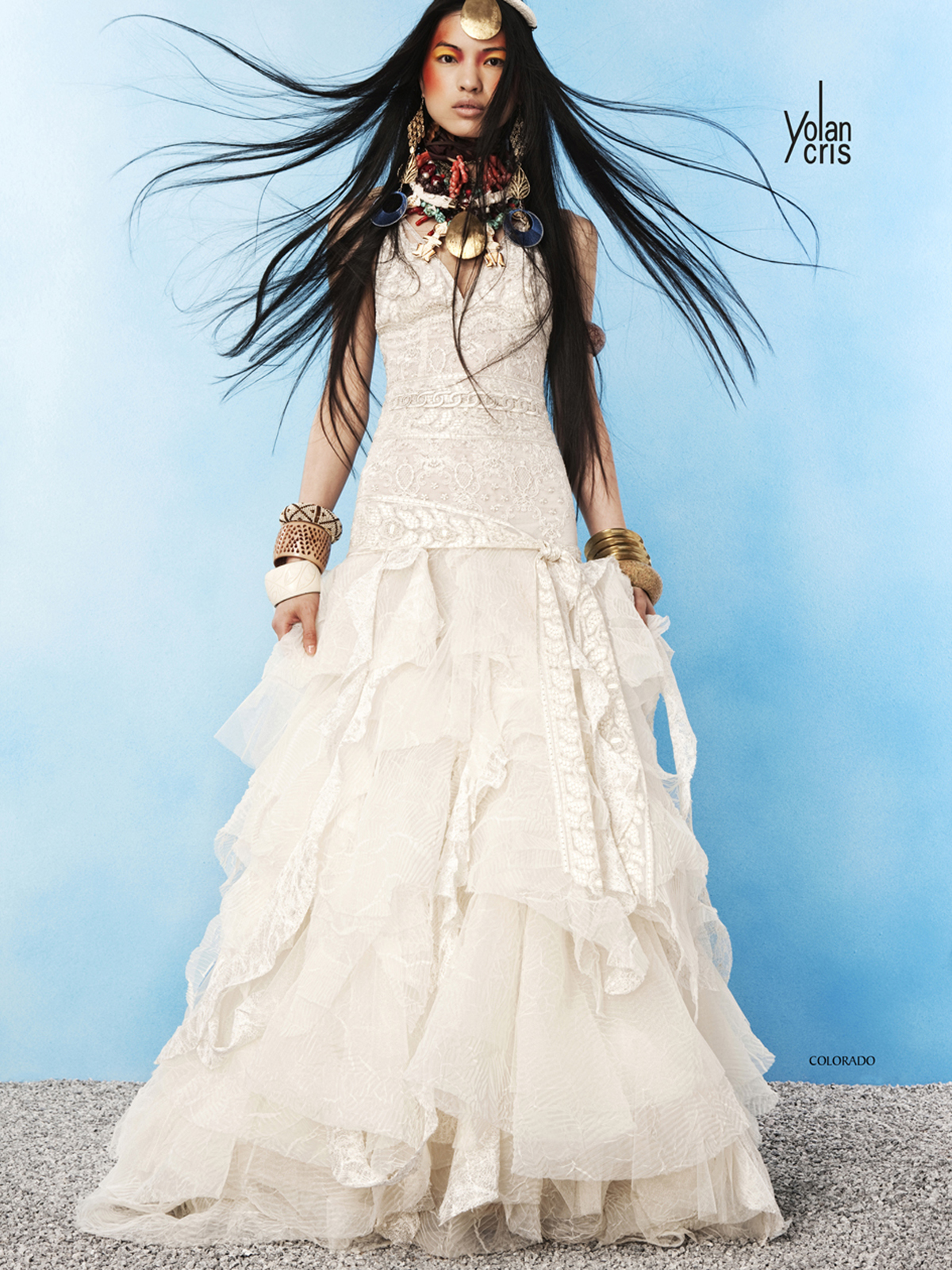 Fancy Ethnic Bridal Gowns Picture Collection - Womens Dresses ...