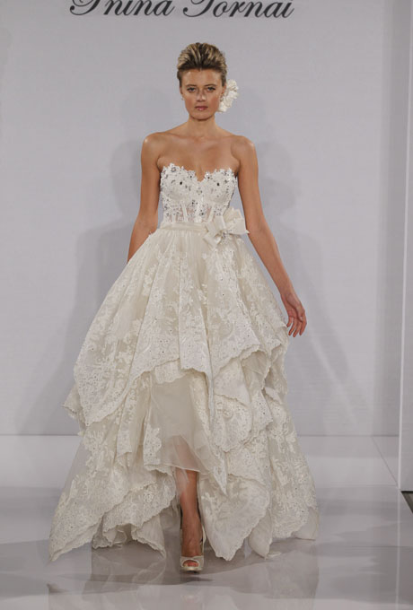 Pnina tornai 2012 spring bridal collection the fashionbrides junglespirit Gallery