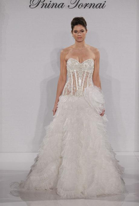 Pnina Tornai 2012 Spring Bridal Collection