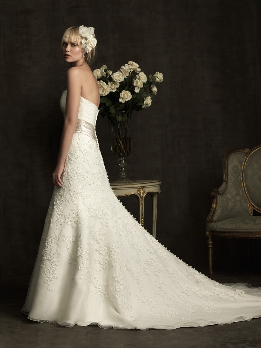 Allure Bridals 2012 Spring Bridal Collection | The FashionBrides