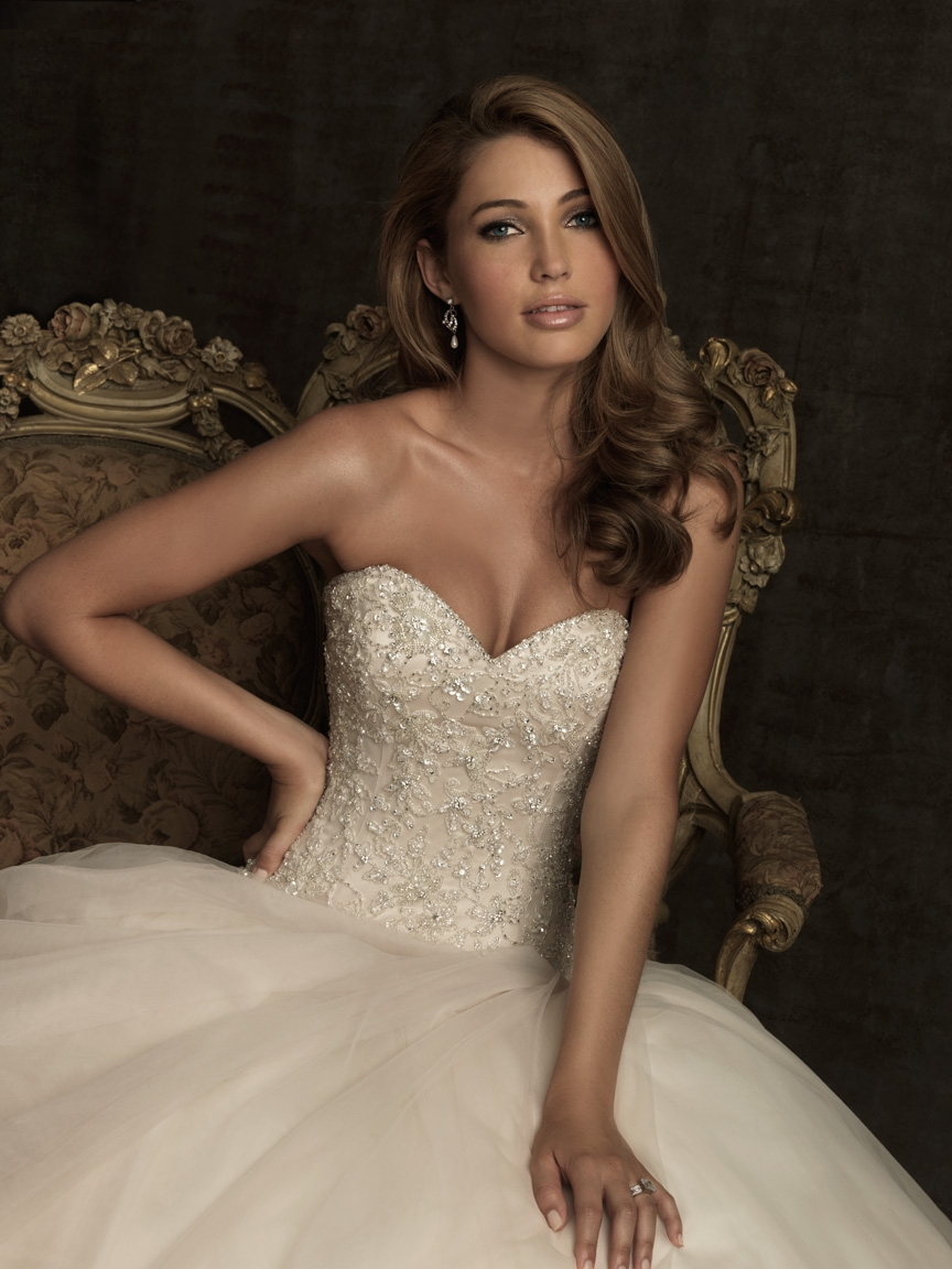 Allure Bridals Spring 2012 Collection   The FashionBrides