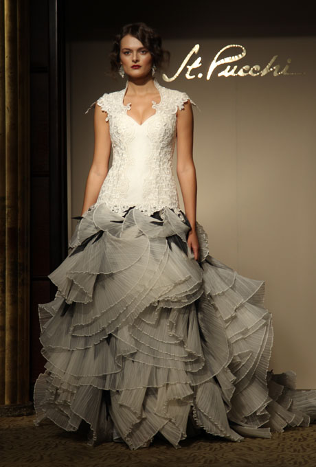 St. Pucchi Fall 2012 Bridal Collection   The FashionBrides