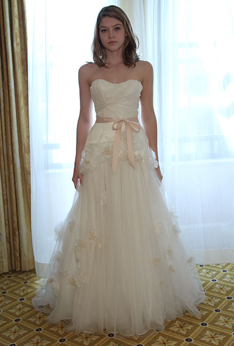 Wedding Dresses With Tulle : Tulle new york spring bridal collection