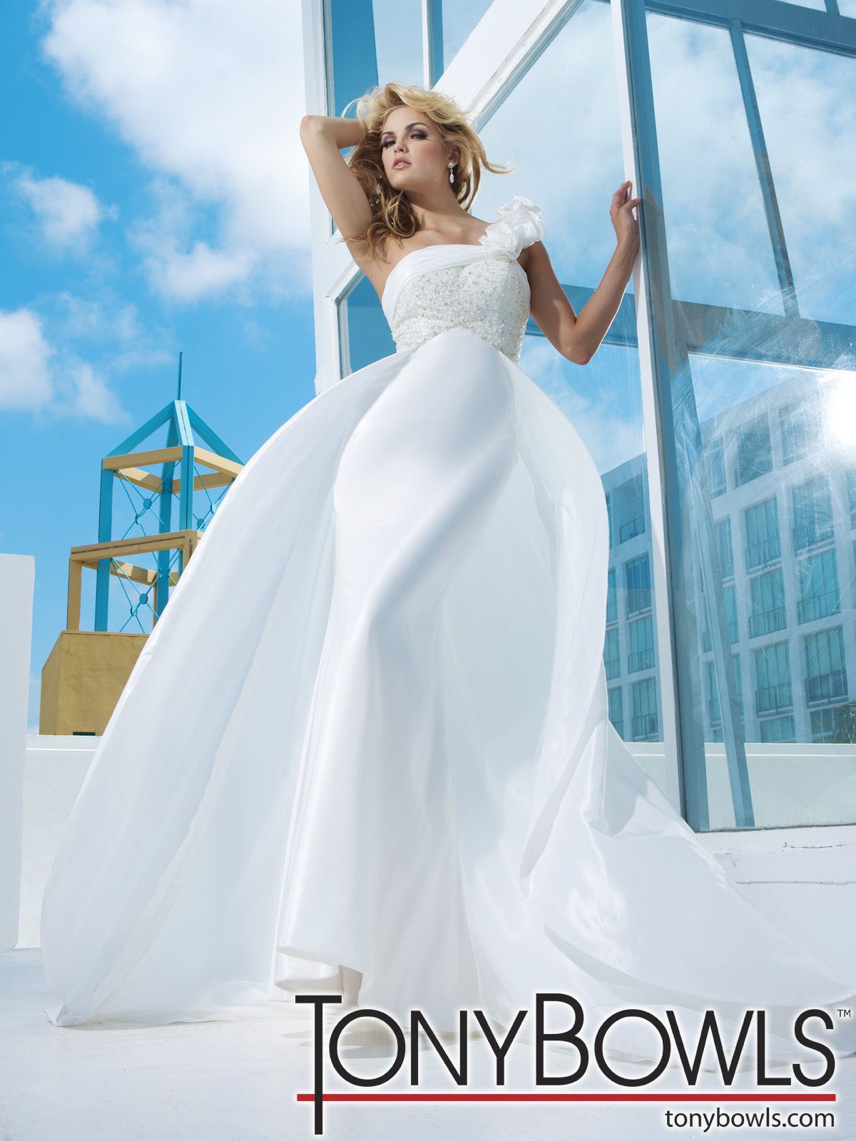 Tony Bowls for Mon Cheri 2012 Spring Collection | The FashionBrides