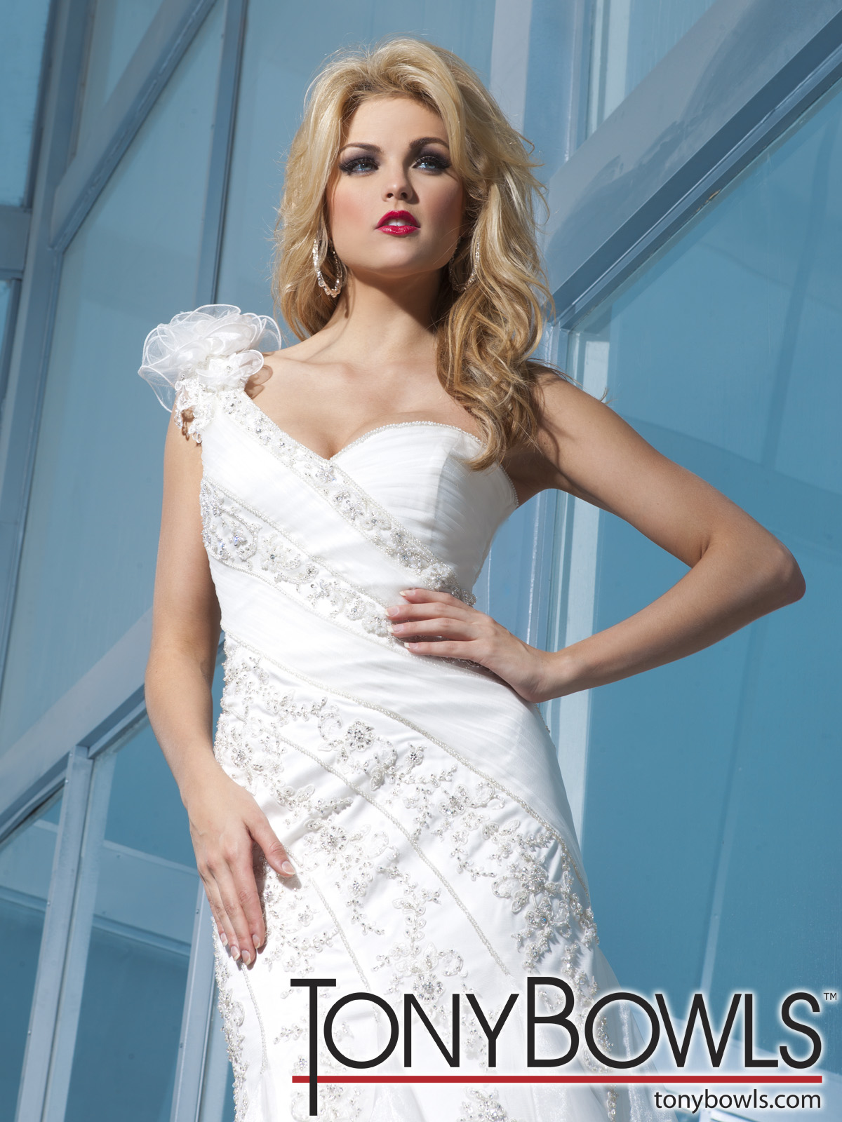 Tony Bowls for Mon Cheri 2012 Spring Collection   The FashionBrides