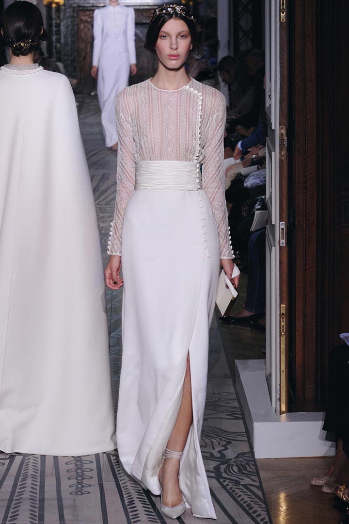 Valentino 2011 Fall Couture Collection | The FashionBrides
