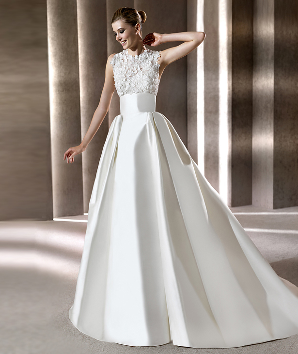 b277b44b9 Elie Saab 2012 Pronovias Bridal Collection – The FashionBrides