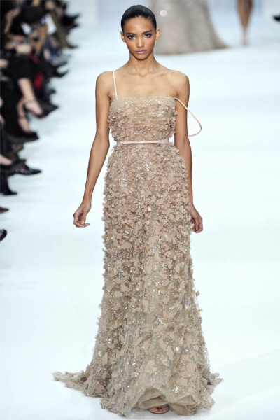 Elie saab 2012 spring haute couture collection the for Elie saab blush wedding dress