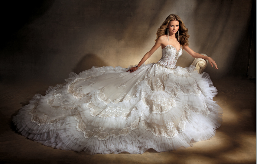 Fairy Tale Fashions (3): Luxe Wedding Dresses - About to Read