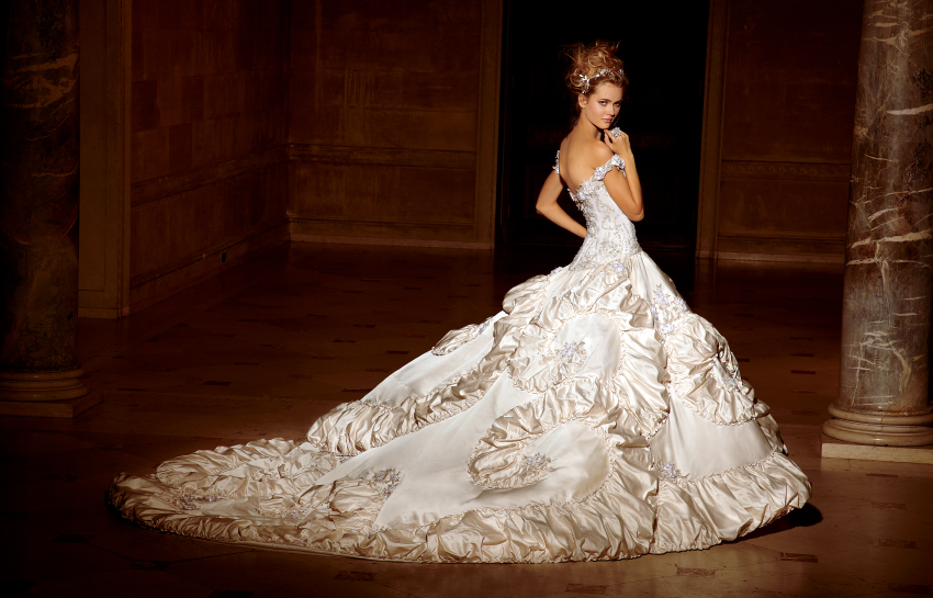 Amalia Carrara for Eve of Milady 2012 Bridal Collection | The ...