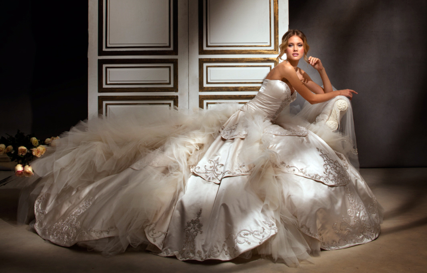 Eve of Milady 2012 Spring Bridal Collection | The FashionBrides
