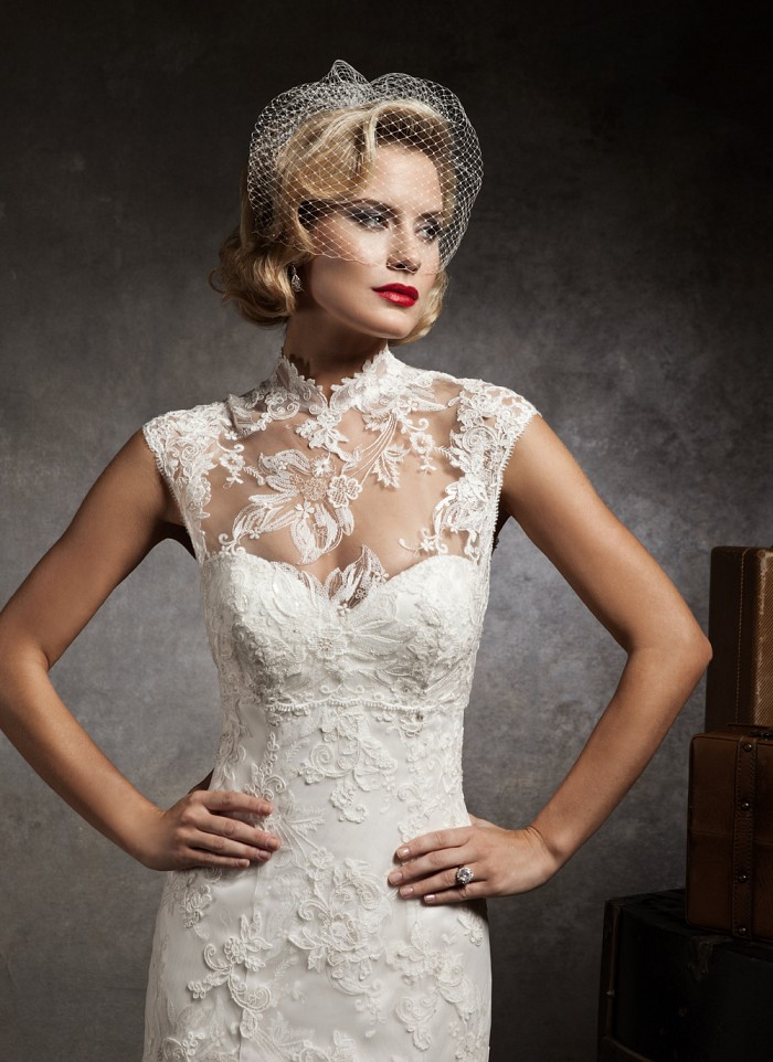 Justin Alexander Fall 2012 Bridal Collection | The FashionBrides