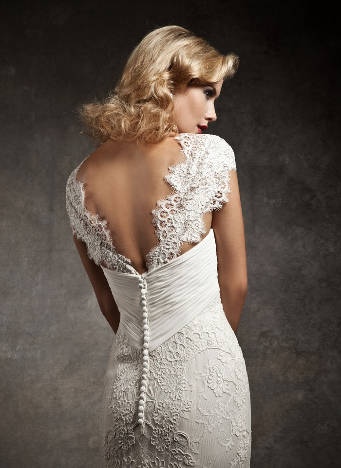 Justin alexander fall 2012 bridal collection i the for 40s style wedding dress