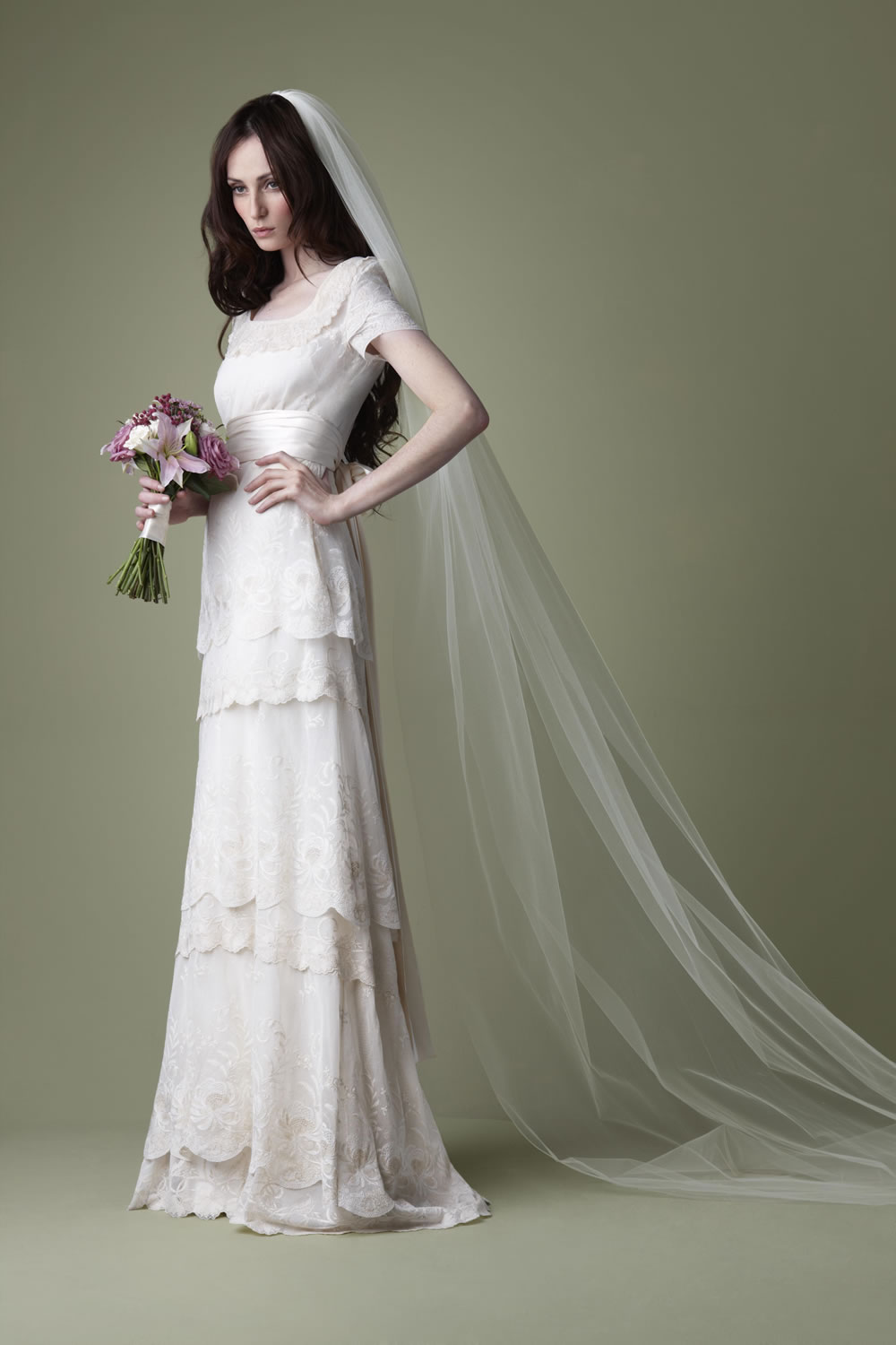 The vintage wedding dress company 2012 bridal collection the