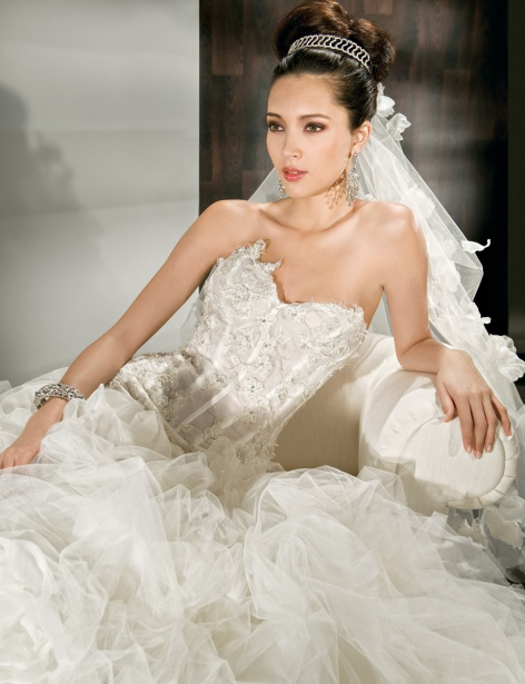 Demetrios 2012 Fall Bridal Couture Collection The FashionBrides