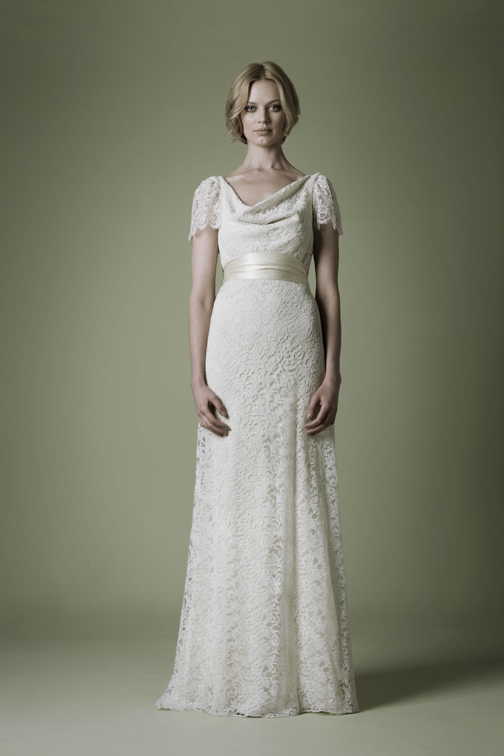 The vintage wedding dress company 2012 spring bridal for Vintage looking wedding dress