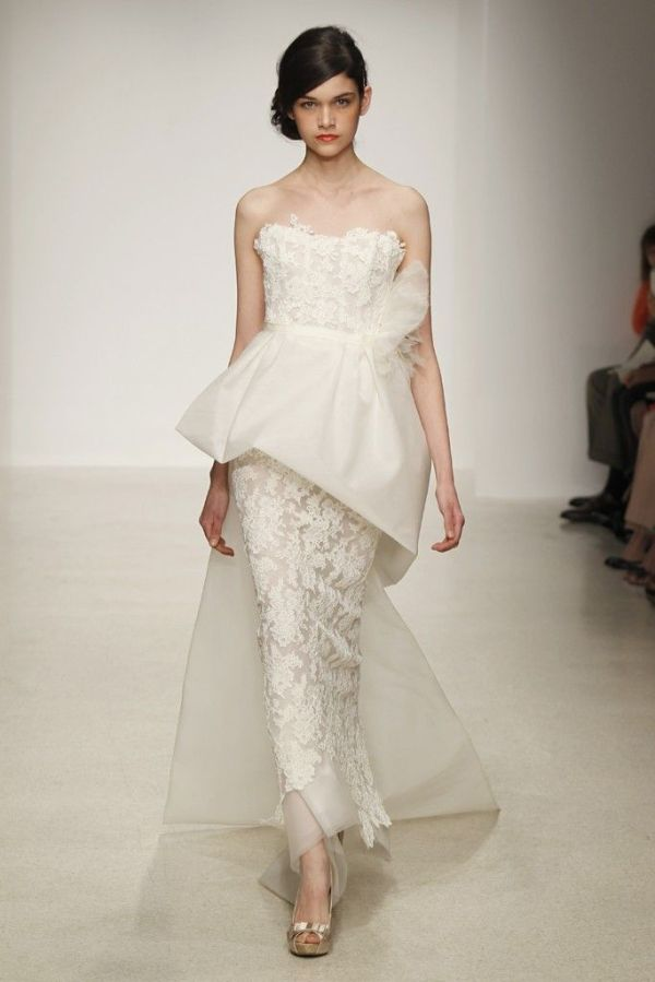 Amsale Spring Summer 2013 Bridal Collection The Fashionbrides