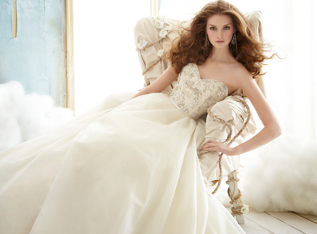 Jim hjelm 2012 fall bridal collection the fashionbrides for Jim hjelm wedding dresses