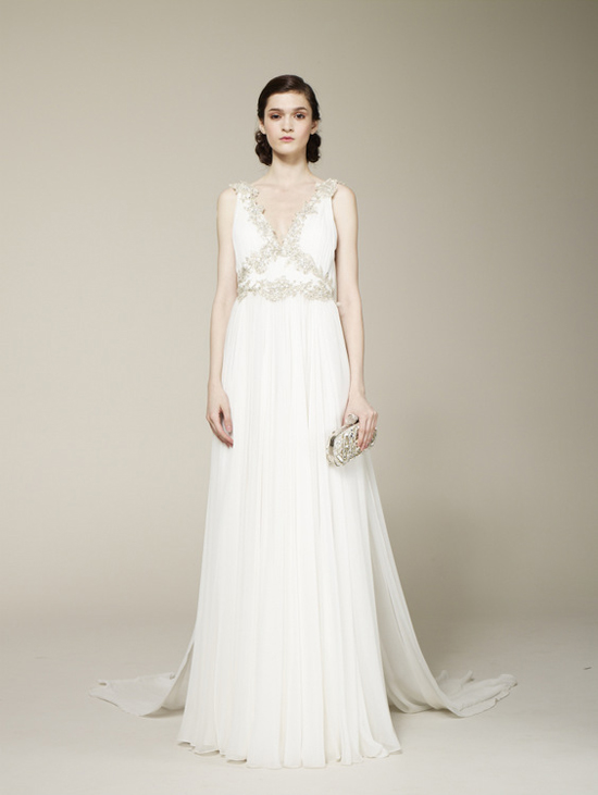 Marchesa 2013 spring bridal collection the fashionbrides for Wedding dress for flat chest