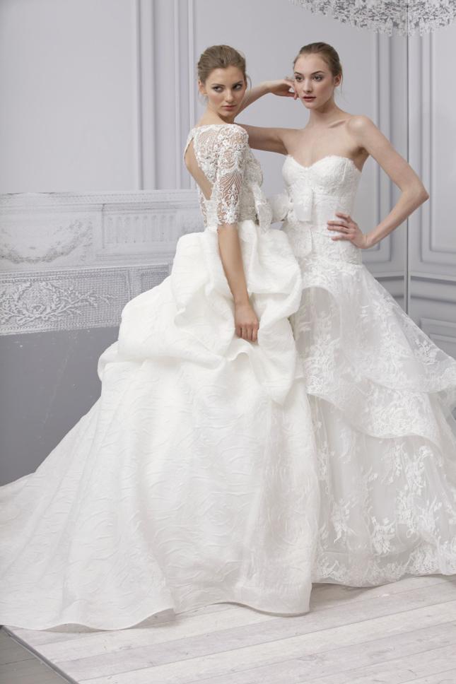 Monique lhuillier 2013 spring bridal collection for Monique lhullier wedding dress
