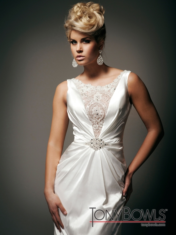 Tony Bowls for Mon Cheri 2012 Fall Collection | The FashionBrides
