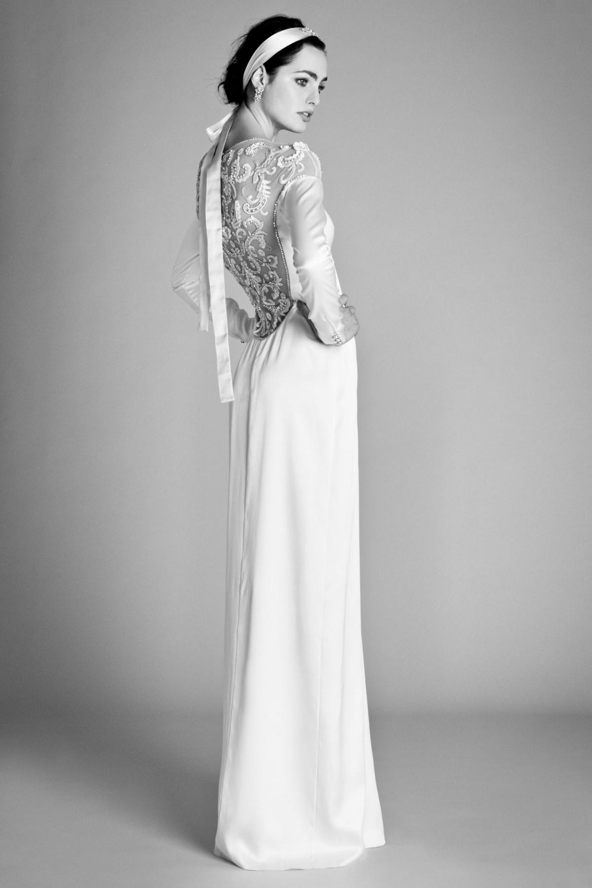 demi moore wedding dress