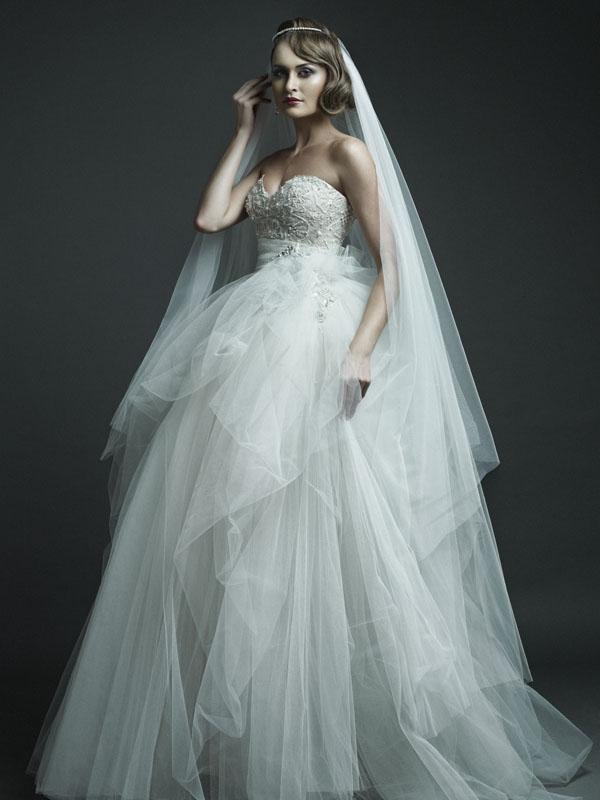 Ersa Atelier 2012 Spring Bridal Collection   The FashionBrides