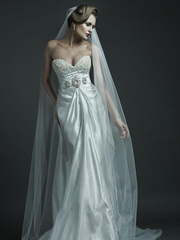 Ersa Atelier 2012 Spring Summer Bridal Collection   The FashionBrides