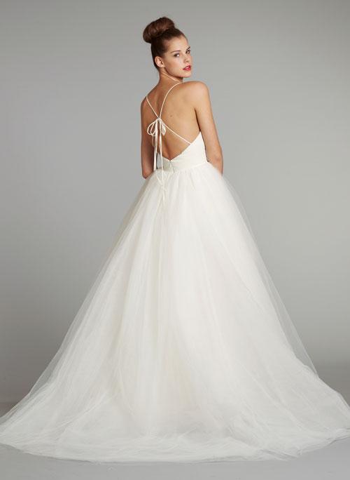 Blush Low Back Wedding Dress : Blush bridal fall collection fashionbride s we