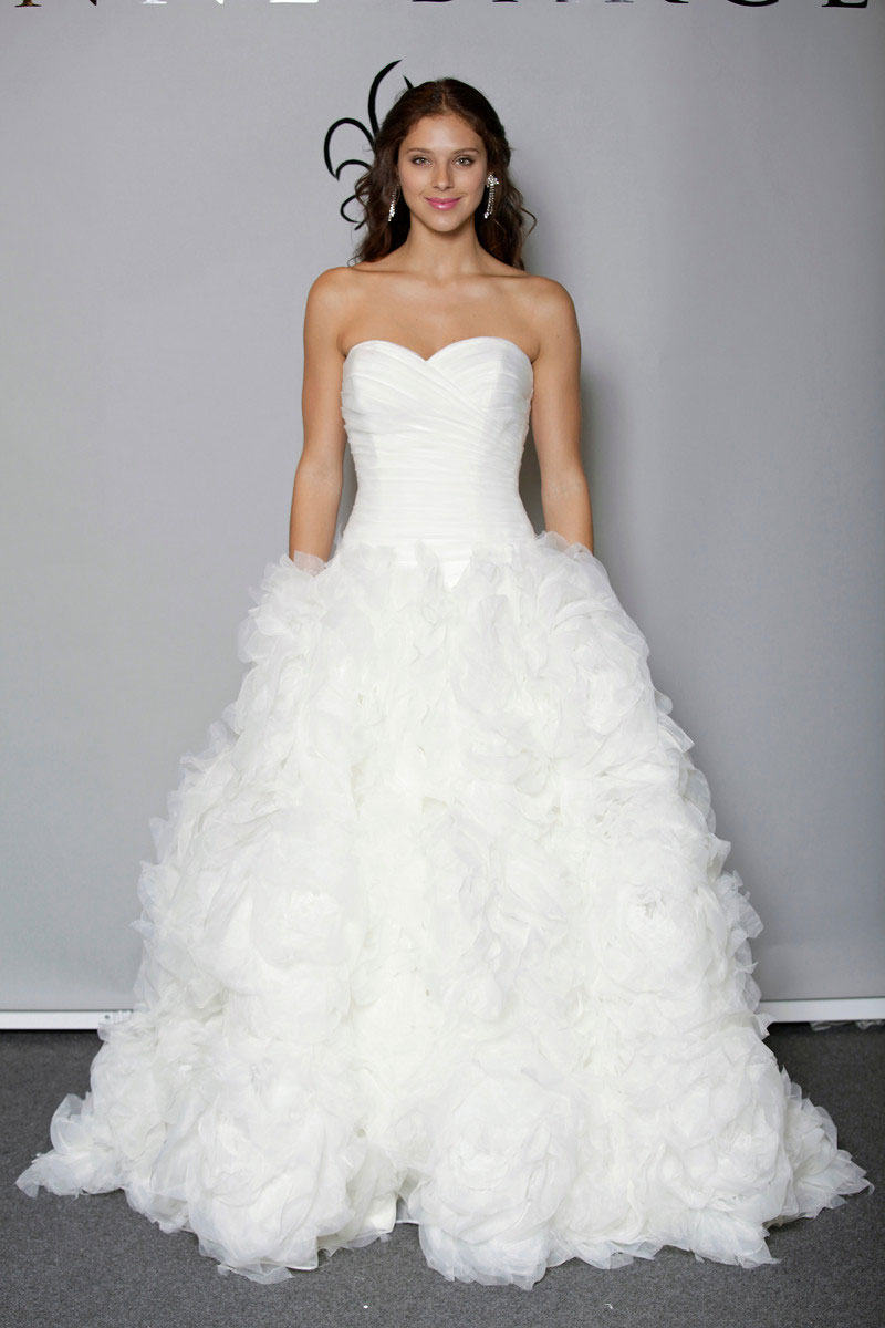 8061251bfed Anne Barge is a veteran bridal gown designer who launched her own company  in 2000. Elegant and graceful best describe her bridal gown designs.