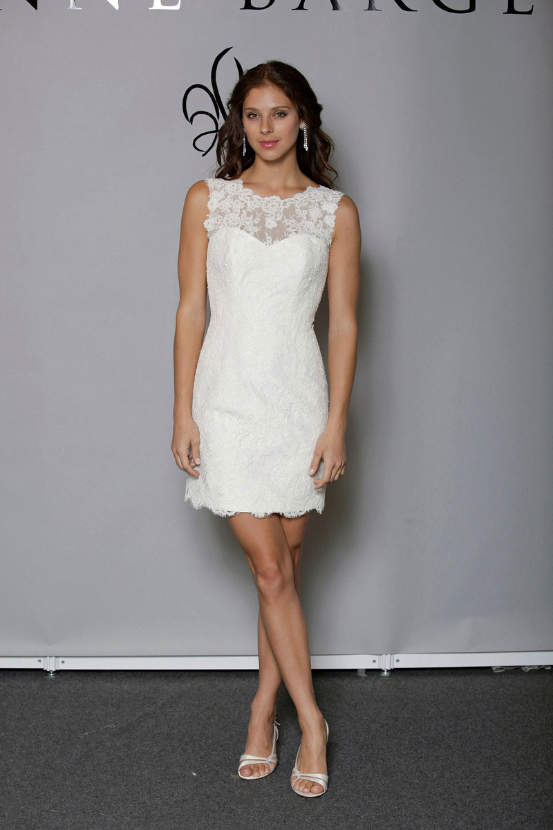 Anne barge spring summer 2013 bridal collection i the for Talbots dresses for weddings