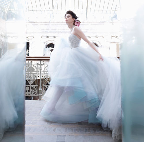 Lazaro Wedding Ball Gowns: Lazaro-bridal-ball-gown-lace-corset-sweetheart-floral