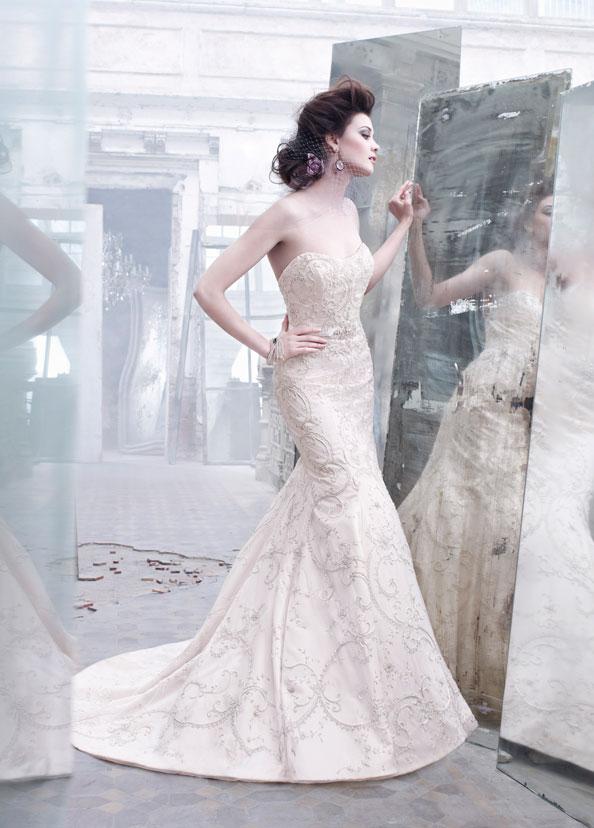 Lazaro Bridal | The FashionBrides