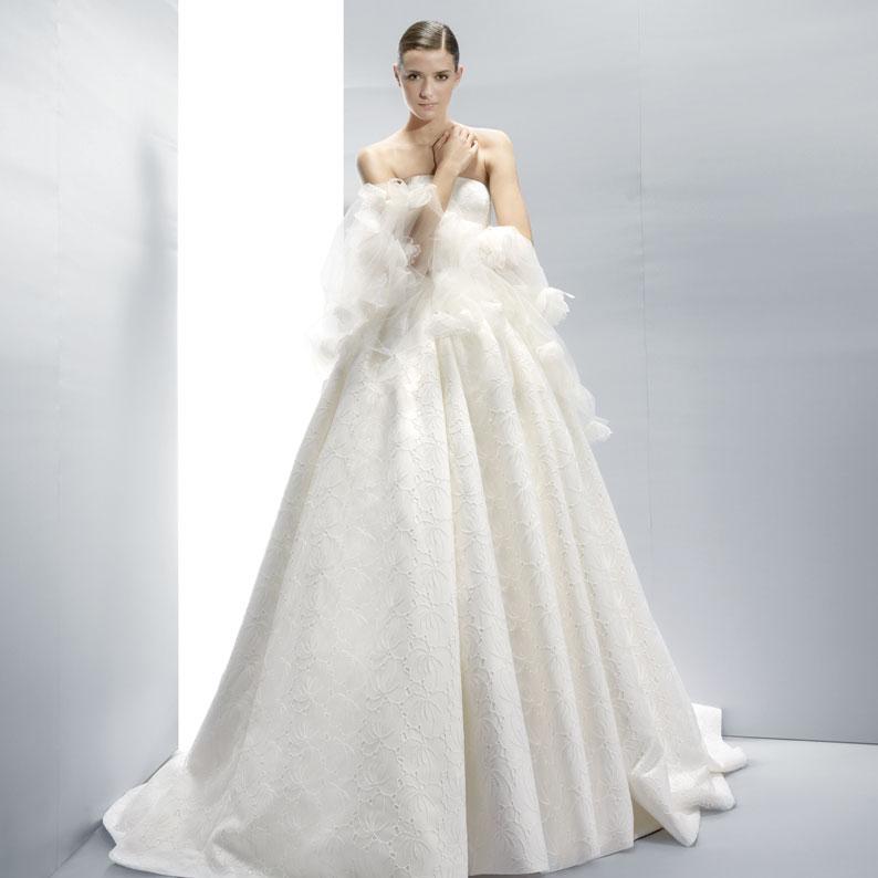 Haute Couture Wedding Dresses: Jesus Peiro 2013 Bridal Spring Summer Collection (V)