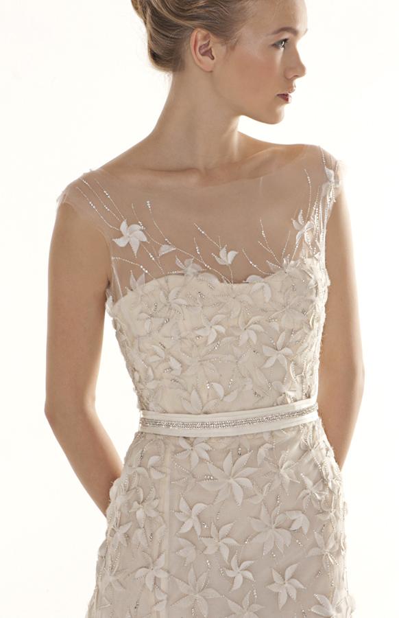 Peter langner 2012 bridal spring collection the for Peter langner wedding dress