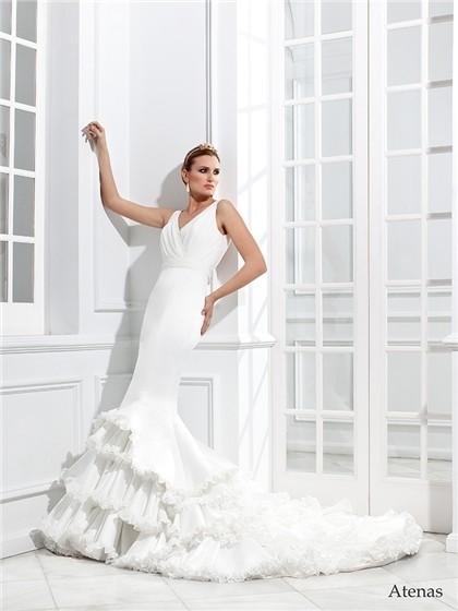 Vicky Martín Berrocal 2013 Spring Bridal Collection » vicky-martin-berrocal- coleccion-amar-por-amar-vestido-novia-modelo-atenas cc0ca3afc6d8