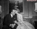 Grace Kelly Kissing Prince Rainier III