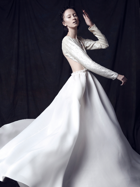 Houghton 2013 Spring Bridal Collection | The FashionBrides