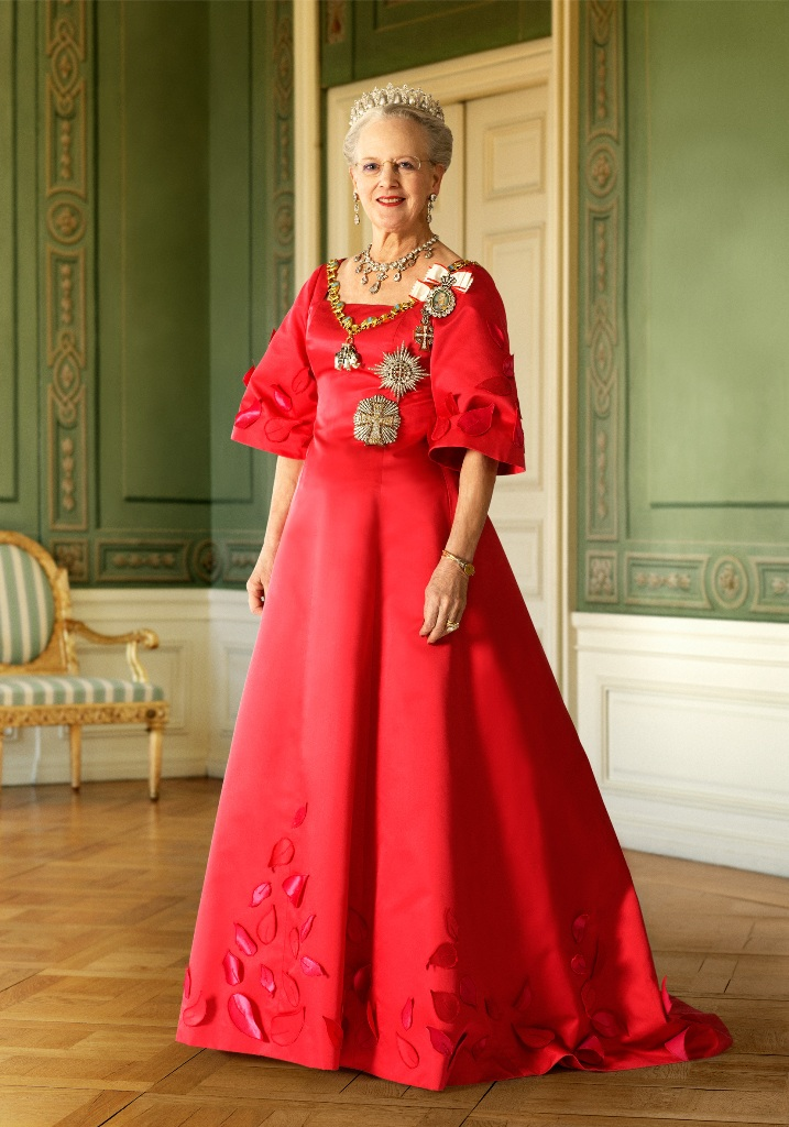 Princess Style Diary: Queen Margrethe II | The FashionBrides