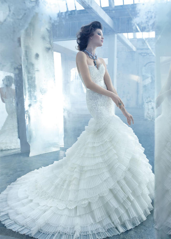 lazaro-bridal-organza-alencon-lace-gown-sheer-elongated-lace-sweetheart-layered-chapel-train-3308_zm