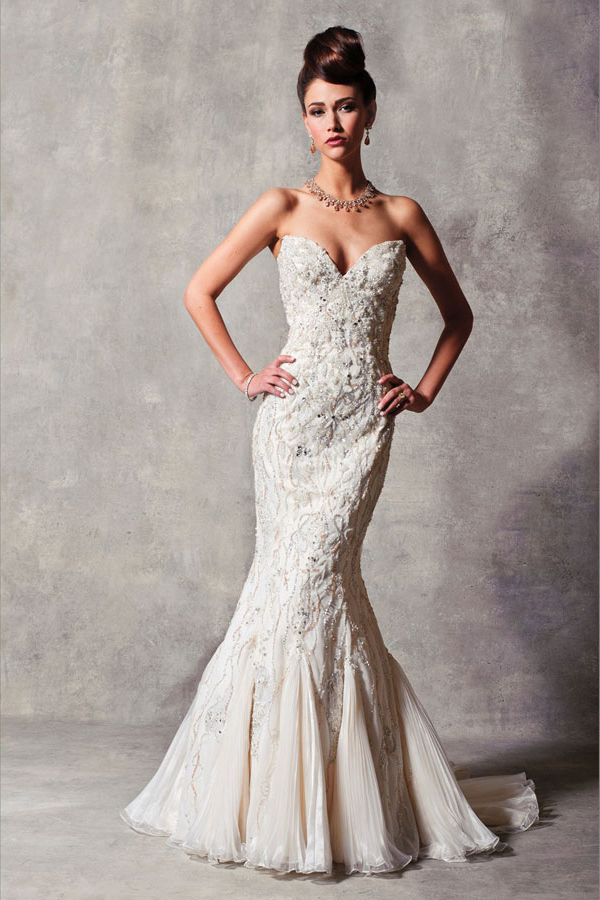 Mermaid Wedding Dresses In Chicago : Stephan yearick bridal collection fashionbride s we